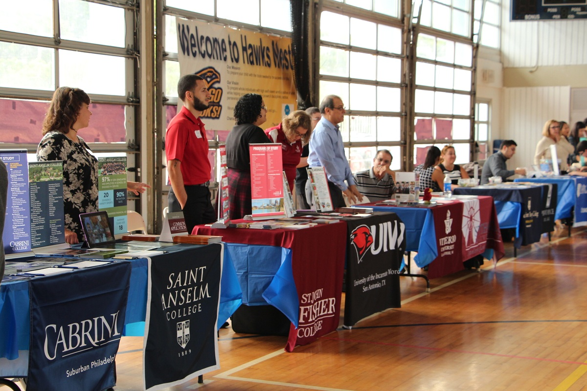 School Banners for College Fairs